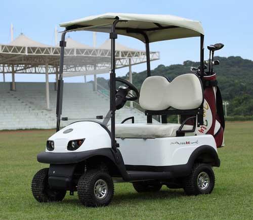 【高尔夫球场】敖翔高尔夫球车,爬坡性能超强