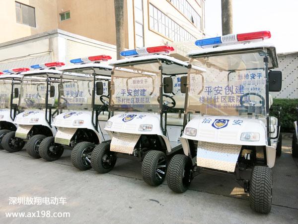 公明楼村巡逻电动车24小时巡逻提升夜班工人强大安全感