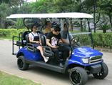 海南陵水雅居乐清水湾酒店出租六座电动观光车再添新贵