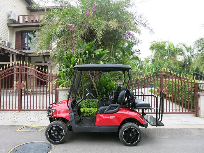 敖翔电动车征服了眼光挑剔的碧桂园十里银滩别墅区闪耀入驻