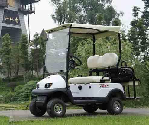 【景区出租使用】四人座小型电动观光车AX-D2+2